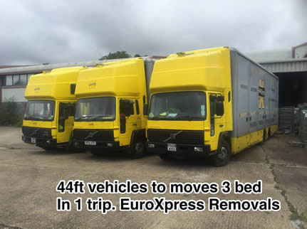 Euroxpress moves mansion house removals