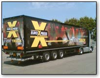 Event truck for larger events also smaller vehicles for smaller bands and entertainers  Djs